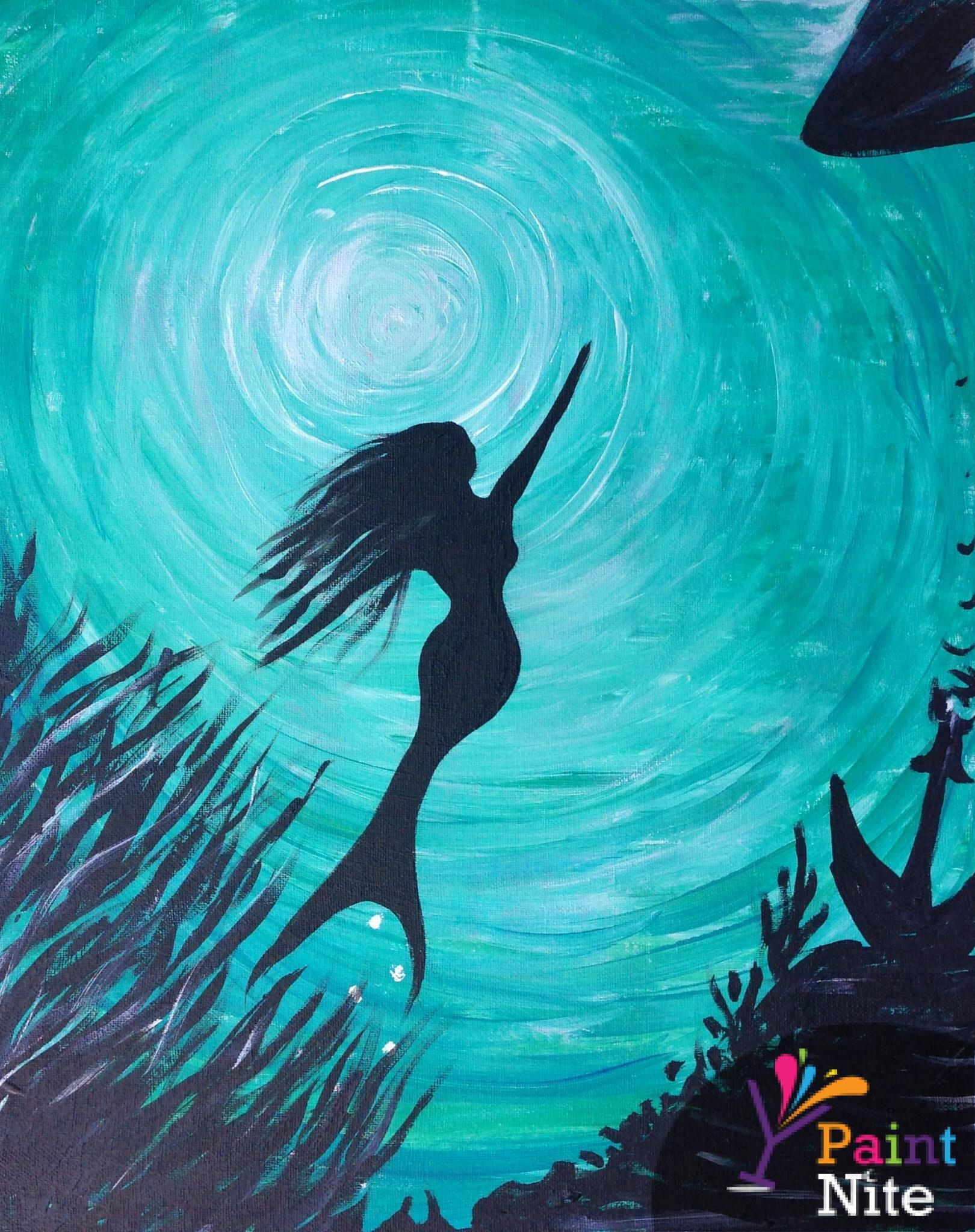 Mermaids Dream 1 at Majorca - Paint Nite Events