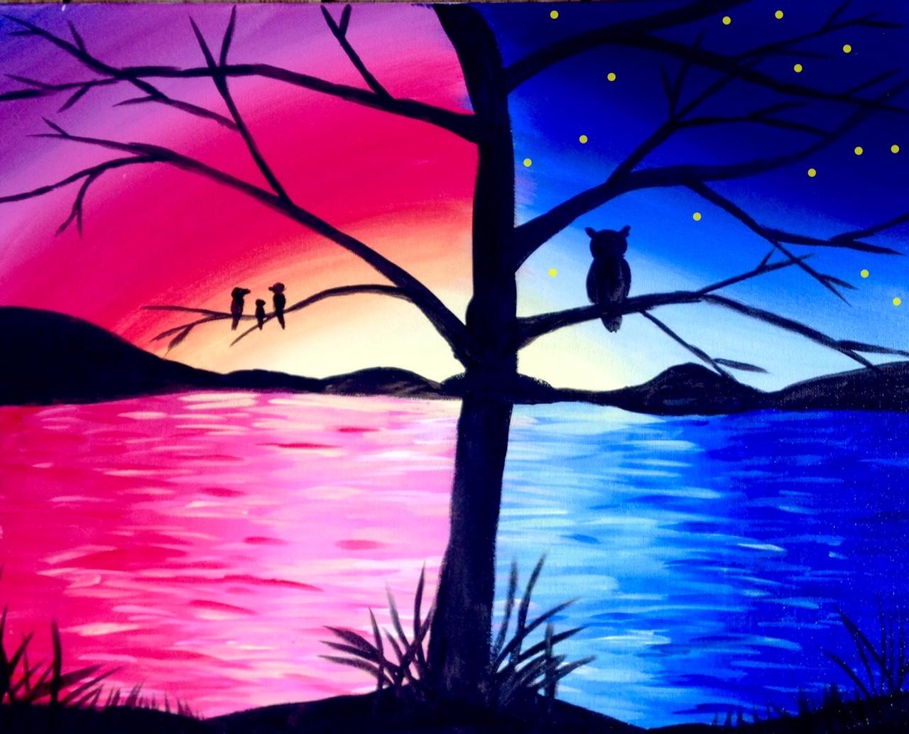 Paisajes Para Dibujar A Color Faciles: Picante - Chantilly 02/24/2015