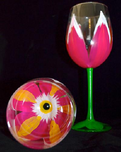 special wine glass painting event arc oct 21st paint