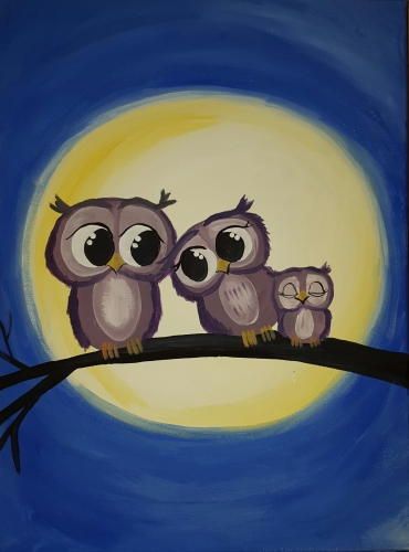 the wing cafe oct 14th kids paint nite event