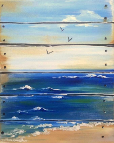 PaintNite (The Ocean is Crate) @ Hillier Creek Estates | Hillier | Ontario | Canada