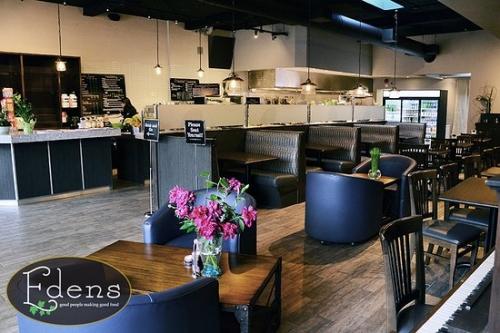 Edens Cafe Hamilton Menu