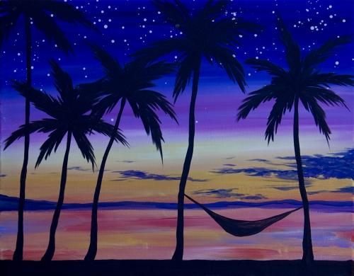 California Pizza Kitchen Palm Tree california pizza kitchen- miracle mile | paint nite event