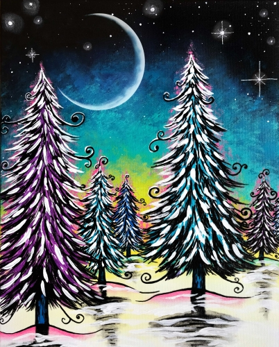 The Falls Grill & Tavern 01/09/2018   Paint Nite Event