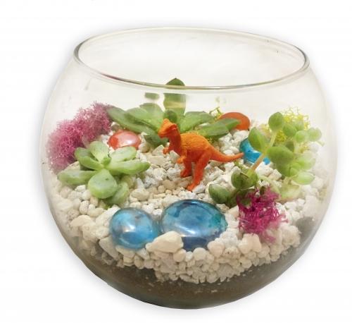 Currey And Company Toronto: Glass Bowl Succulent Terrarium At Barmacy Bar & Grill