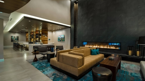 Greatroom Lounge At The Richmond Marriott (Short Pump)