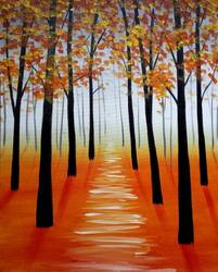 A Fall Path II paint nite project by Yaymaker