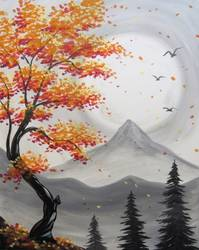 A Simi Autumn Blossoms paint nite project by Yaymaker
