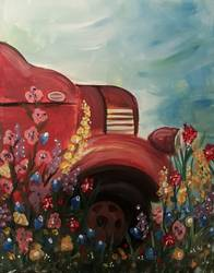 A Rusty Garden paint nite project by Yaymaker