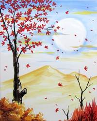 A Simplicity of Fall paint nite project by Yaymaker