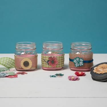 A Scents in mason jars candle maker project by Yaymaker
