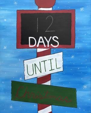 Until Christmas 70 Days Till Christmas.Paint Nite At Manatawny Still Works Pottstown Pa Us Yaymaker