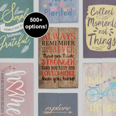 A Choose Your Own Event design a sign project by Yaymaker
