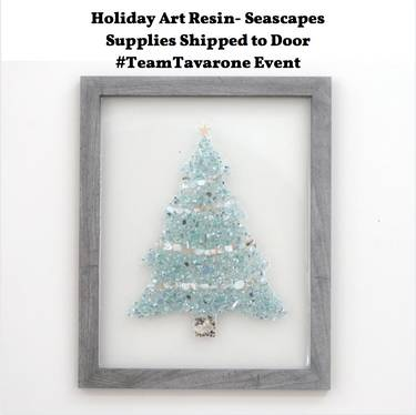 Christmas Events December 2020 And Holbrook Ma Virtual Mosaic/Resin   Holiday Art Resin Seascapes with