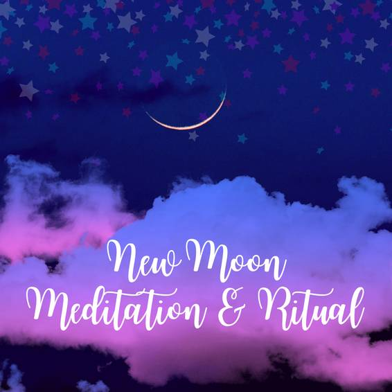 A New Moon Meditation  Ritual experience project by Yaymaker