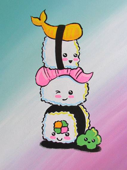 A Kawaii Sushi Stack experience project by Yaymaker