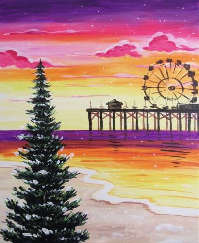 A Winter Sunset at the Pier experience project by Yaymaker