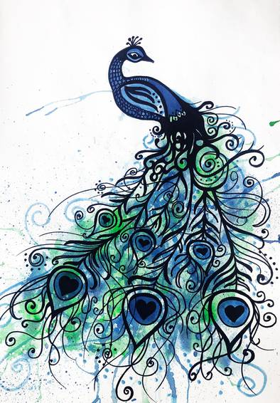 A Doodle Peacock experience project by Yaymaker