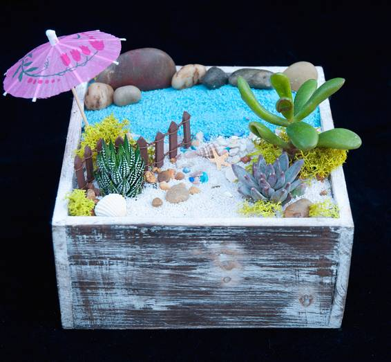 A Beach Hideaway plant nite project by Yaymaker