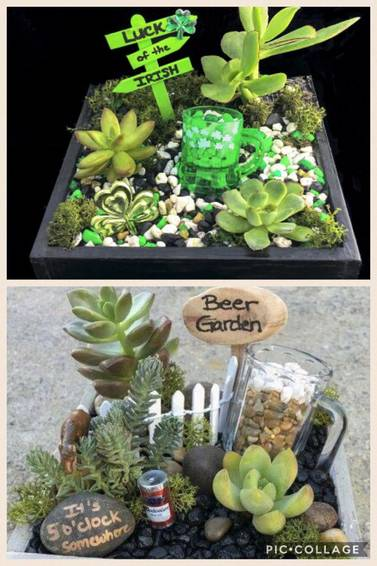 A Irish Beer Garden Or Beer Garden plant nite project by Yaymaker