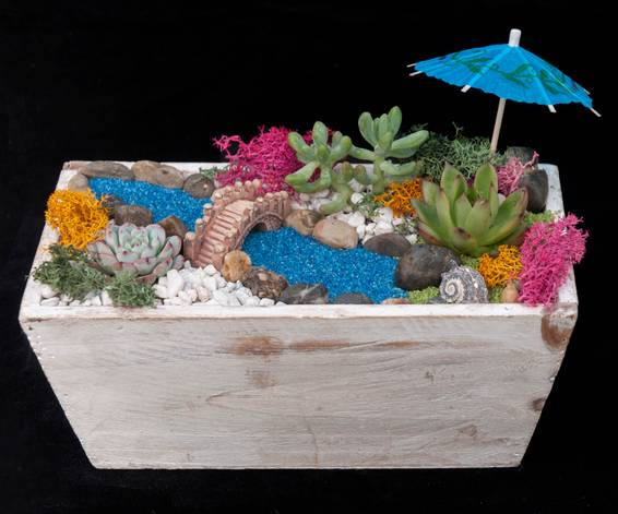 A Island Hideaway plant nite project by Yaymaker
