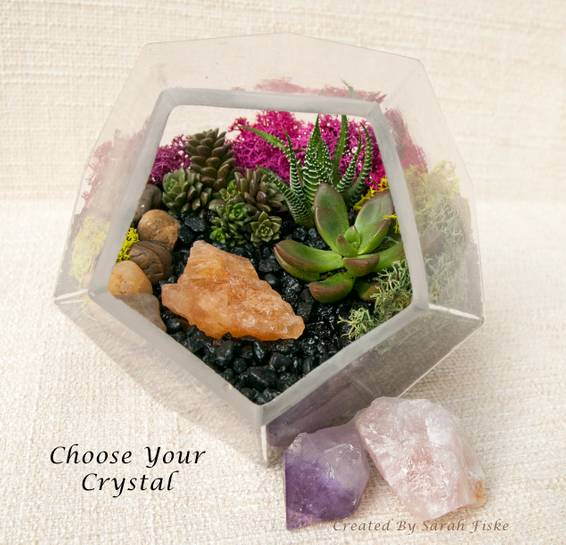 A Prism Glass w Crystal option plant nite project by Yaymaker