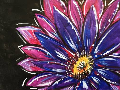 A Imperial Daisy paint nite project by Yaymaker