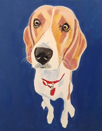 A Paint Your Pet Events 2 paint nite project by Yaymaker