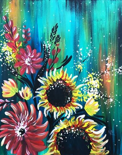 A Beauty  Fall paint nite project by Yaymaker