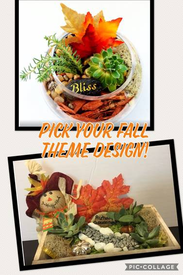 A The Fall Mix Up plant nite project by Yaymaker
