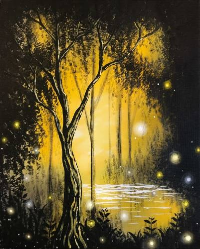 A Magical Forest II paint nite project by Yaymaker