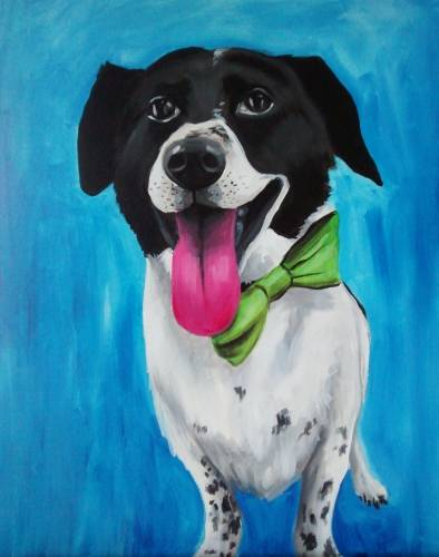 A Paint Your Pet Special Event II paint nite project by Yaymaker