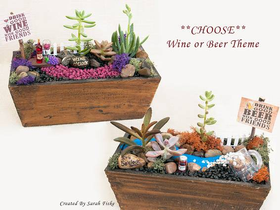 A Good Wine or Good Beer plant nite project by Yaymaker