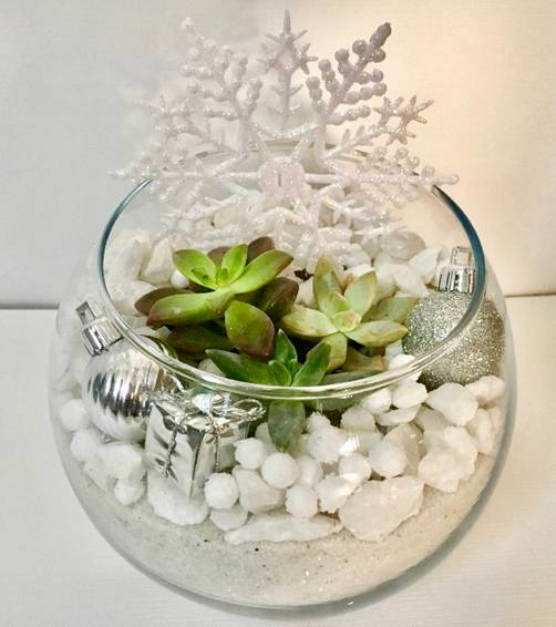 A Winter Wonderland plant nite project by Yaymaker