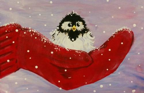 A A Bird In the Hand paint nite project by Yaymaker