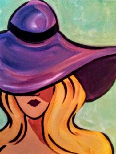 A Violet Vanity paint nite project by Yaymaker