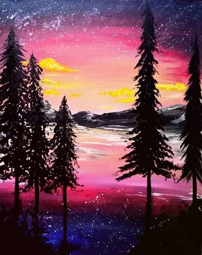 A Yukon Gold paint nite project by Yaymaker