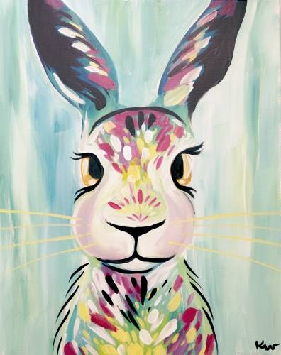 A Some Bunny To Love paint nite project by Yaymaker