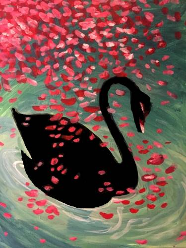 A Black Swan Song paint nite project by Yaymaker