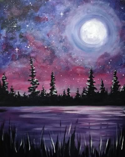 A Galaxy Lake II paint nite project by Yaymaker