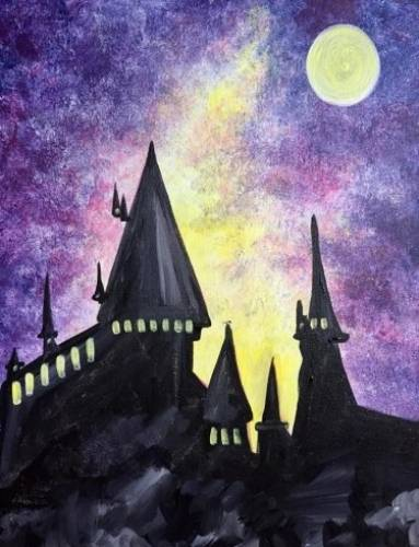A Up to No Good paint nite project by Yaymaker