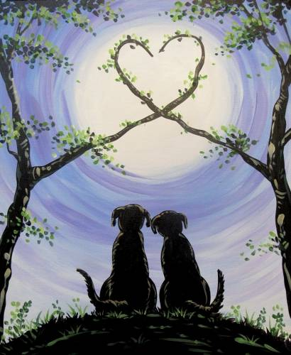 A Labs in Love paint nite project by Yaymaker