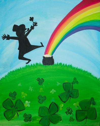 A Irish Luck II paint nite project by Yaymaker
