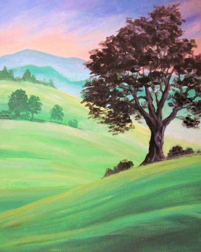 A Morning Irish Mist paint nite project by Yaymaker