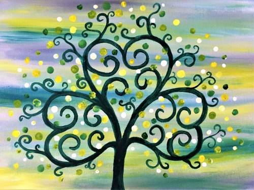 A Clover Tree paint nite project by Yaymaker