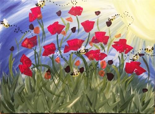 A It Bees Spring paint nite project by Yaymaker