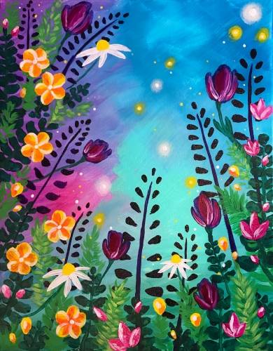 A The Bounty Of Spring paint nite project by Yaymaker