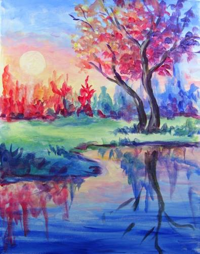A Dawn of Color paint nite project by Yaymaker