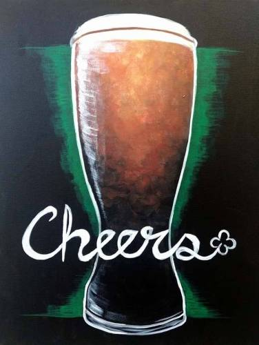A Cheer n Beer paint nite project by Yaymaker