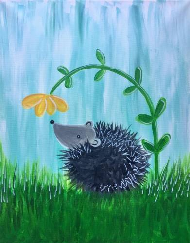 A Sweet Spring Scent paint nite project by Yaymaker